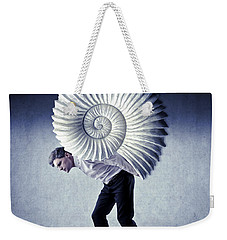 The Weight Of Life Weekender Tote Bag