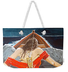 The Whims Of The Moon  Weekender Tote Bag by Lazaro Hurtado