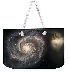 The Whirlpool Galaxy M51 And Companion Weekender Tote Bag