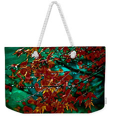 The Whispering Leaves Of Autumn Weekender Tote Bag