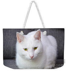 The White Beauty Weekender Tote Bag by Tine Nordbred