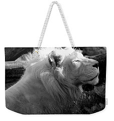 The White King Weekender Tote Bag
