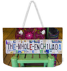 The Whole Enchilada Weekender Tote Bag