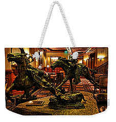The Widowmaker 1 Weekender Tote Bag by Judy Vincent
