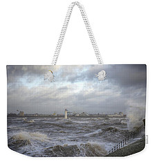 The Wild Mersey Weekender Tote Bag by Spikey Mouse Photography