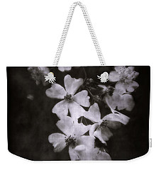 Weekender Tote Bag featuring the photograph The Wild Roses by Louise Kumpf