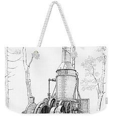 The Willamette Steam Donkey Weekender Tote Bag