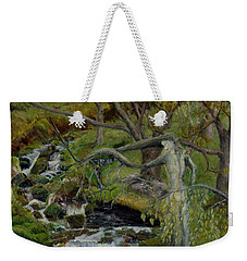 The Willow Woman Washing Her Hair Weekender Tote Bag