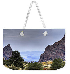 The Window View Weekender Tote Bag