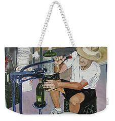 The Wine Maker Weekender Tote Bag