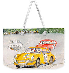 The Winter Rally Weekender Tote Bag by Eva Ason