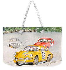 The Winter Rally Weekender Tote Bag