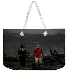 The Witch On The Beach Weekender Tote Bag