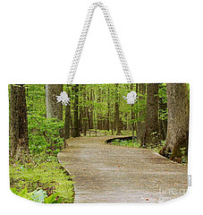 The Wooden Path Weekender Tote Bag