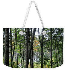 The Woods Coastal Maine Botanical Gardens Weekender Tote Bag
