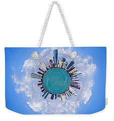 The World Of Miami Weekender Tote Bag by Carsten Reisinger