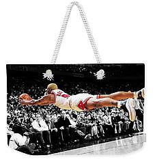 The Worm Dennis Rodman Weekender Tote Bag