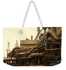 The Worm Passageways Weekender Tote Bag