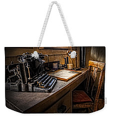 The Writer's Desk Weekender Tote Bag