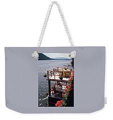 The Wyker's Deck Weekender Tote Bag