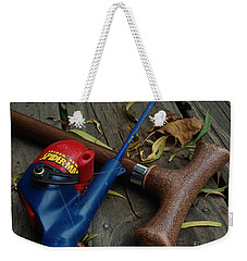 Weekender Tote Bag featuring the photograph The X Men by Peter Piatt