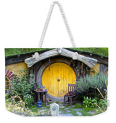 Yellow Hobbit Door Weekender Tote Bag
