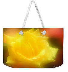 Weekender Tote Bag featuring the photograph New Orleans  Yellow Rose Of Tralee by Michael Hoard