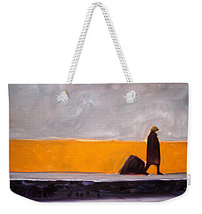 The Yellow Wall Weekender Tote Bag