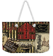 Theater Weekender Tote Bag by Jean Plout