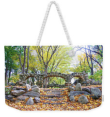 Theatre Reception Area Weekender Tote Bag by Karen Silvestri