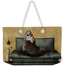 Therapy Weekender Tote Bag by Galen Valle