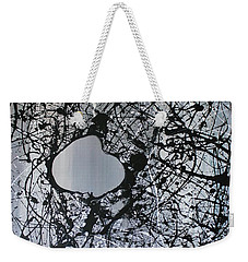 There Is A Hole In The Bucket Weekender Tote Bag by Michael Cross