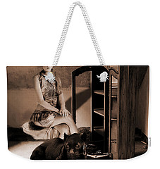 Therian - Cat People Weekender Tote Bag by Galen Valle