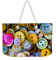 Thimble And Needle Weekender Tote Bag by Edgar Laureano