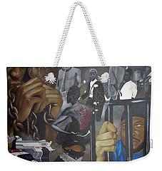 Think Black Man Weekender Tote Bag