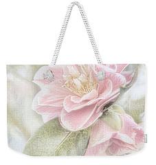 Think Pink Weekender Tote Bag by Peggy Hughes