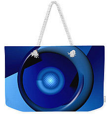 Thinking Of Blue Weekender Tote Bag
