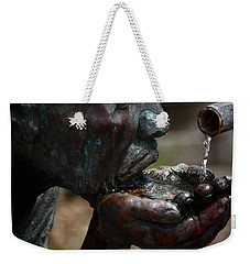Weekender Tote Bag featuring the photograph Thirst Quencher by Leticia Latocki
