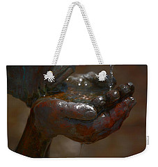 Weekender Tote Bag featuring the photograph Thirsty by Leticia Latocki