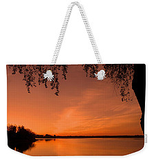 Weekender Tote Bag featuring the photograph This Is A New Day ... by Juergen Weiss