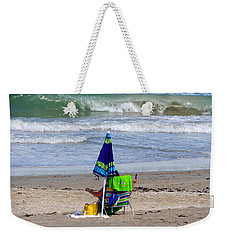 This Is A Recording Weekender Tote Bag