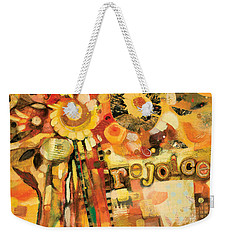 This Is The Day To Rejoice Weekender Tote Bag