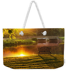 This Old Bridge Weekender Tote Bag