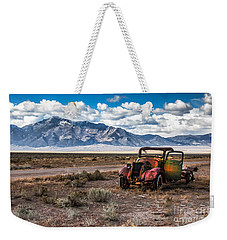 This Old Truck Weekender Tote Bag by Robert Bales