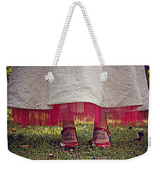 Weekender Tote Bag featuring the photograph This Place This Time by Jessica Brawley