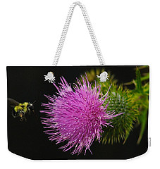 Thistle While You Work Weekender Tote Bag