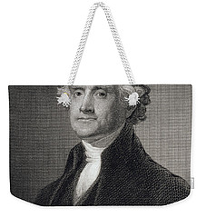 Thomas Jefferson Weekender Tote Bag by Gilbert Stuart