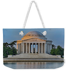 Weekender Tote Bag featuring the photograph Thomas Jefferson Memorial At Sunrise by Sebastian Musial