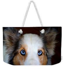 Those Eyes Weekender Tote Bag by Kathryn Meyer