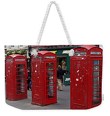 Those Red Telephone Booths Weekender Tote Bag